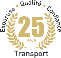 25 ans transport